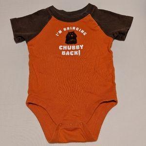 Baby Gap Boys' Short Sleeve Onesie 6-12 Months